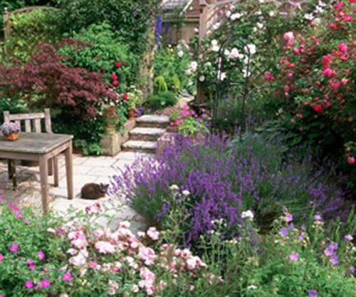 9 Cottage Style Garden Ideas: Beautiful English Countryside Fairytale Cottages With
