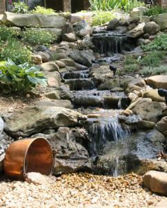 Low Maintenance Pondless Waterfalls