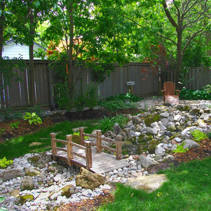 Water features ponds peace love and landscaping - Japanese garden small space ...