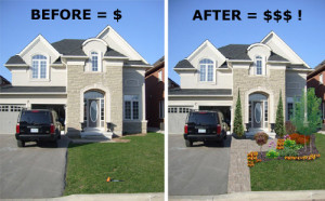 Curb Appeal Increases your Property Value